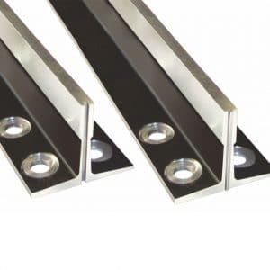 standard machined guide rails